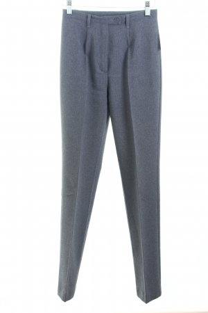 United Colors of Benetton Bundfaltenhose grau meliert Business-Look