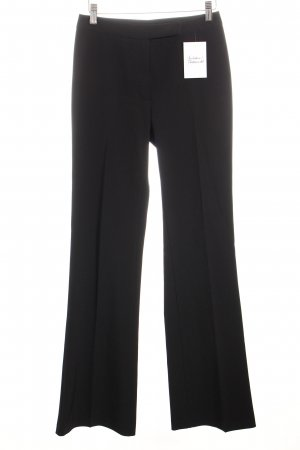 United Colors of Benetton Bundfaltenhose schwarz Business-Look