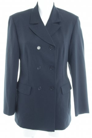 United Colors of Benetton Pea Jacket dark blue elegant