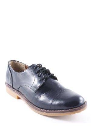 United Colors of Benetton Zapatos Oxford con puntera negro estilo «business»