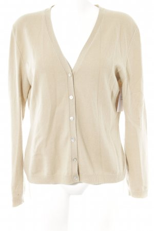 United Colors of Benetton Cardigan beige Casual-Look