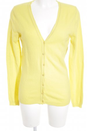 United Colors of Benetton Cardigan gelb Casual-Look
