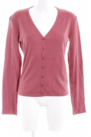 United Colors of Benetton Cardigan ziegelrot Casual-Look