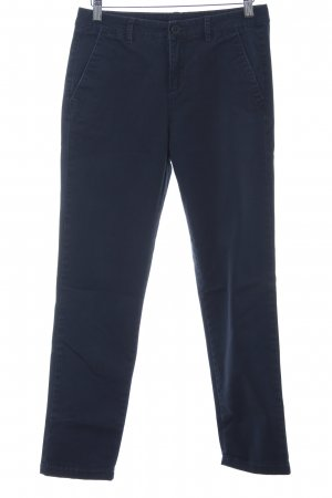 United Colors of Benetton Chinos dark blue casual look