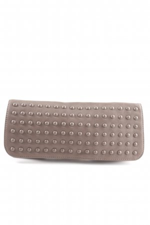 United Colors of Benetton Clutch wollweiß Business-Look