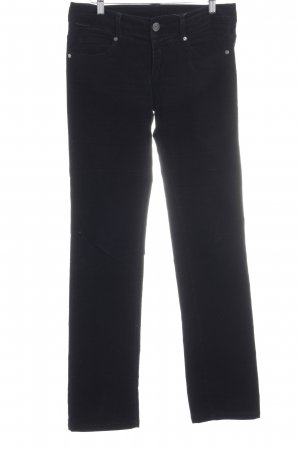 United Colors of Benetton Cordhose schwarz Casual-Look