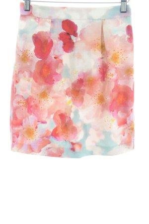 United Colors of Benetton Jupe évasée motif floral style romantique