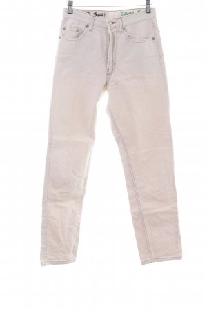 United Colors of Benetton Hoge taille jeans roze casual uitstraling