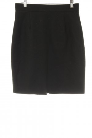 United Colors of Benetton High Waist Rock schwarz Business-Look