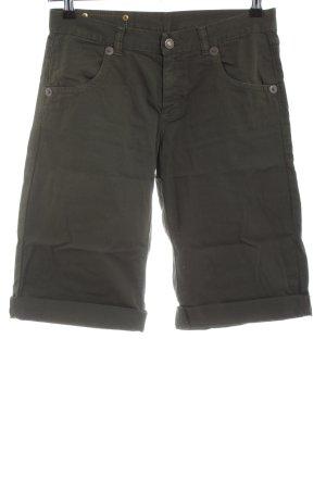 United Colors of Benetton High-Waist-Shorts khaki Casual-Look