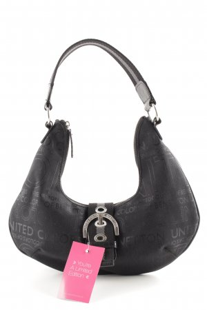 United Colors of Benetton Bolsa Hobo negro look Street-Style