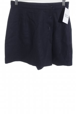 United Colors of Benetton Culotte Skirt dark blue classic style