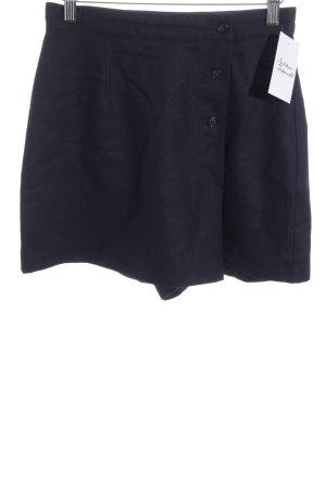 United Colors of Benetton Jupes-culottes bleu foncé style classique
