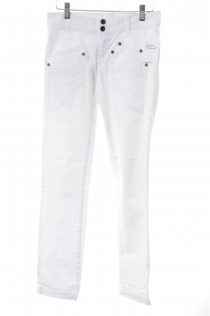 United Colors of Benetton Vaquero hipster blanco look casual