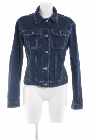 United Colors of Benetton Jeansjacke neonblau Casual-Look