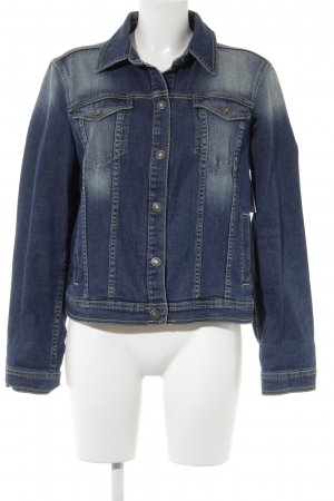 United Colors of Benetton Jeansjacke dunkelblau Casual-Look