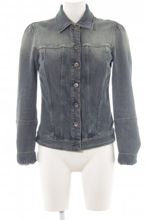 United Colors of Benetton Jeansjacke graublau Casual-Look