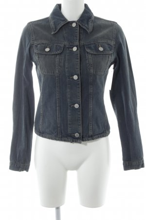 United Colors of Benetton Denim Jacket slate-gray second hand look