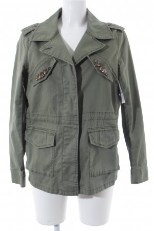 United Colors of Benetton Jeansjacke olivgrün Casual-Look