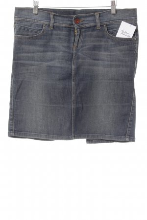 United Colors of Benetton Jeansrock blau Casual-Look
