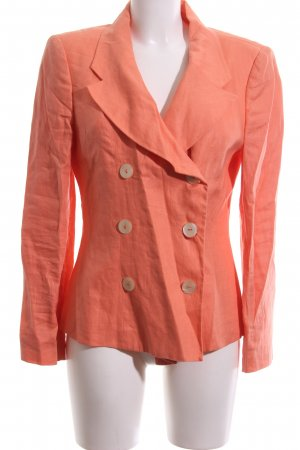 United Colors of Benetton Jerseyblazer hellorange Casual-Look