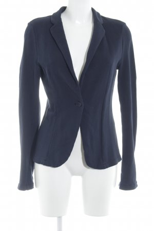 United Colors of Benetton Jersey Blazer azul oscuro look casual