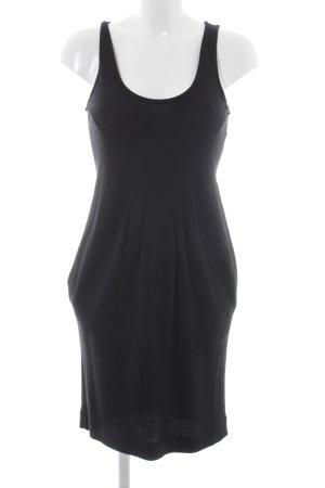 United Colors of Benetton Jerseykleid schwarz schlichter Stil