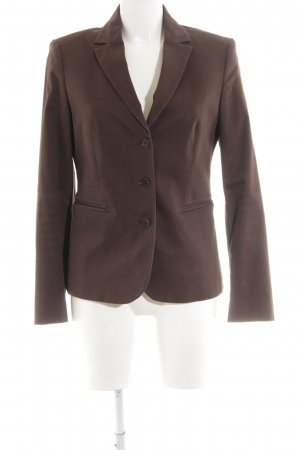 United Colors of Benetton Kurz-Blazer braun Business-Look