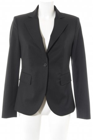 United Colors of Benetton Kurz-Blazer schwarz Business-Look