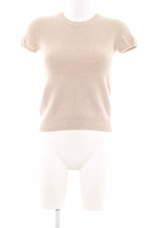 United Colors of Benetton Short Sleeve Sweater natural white casual look
