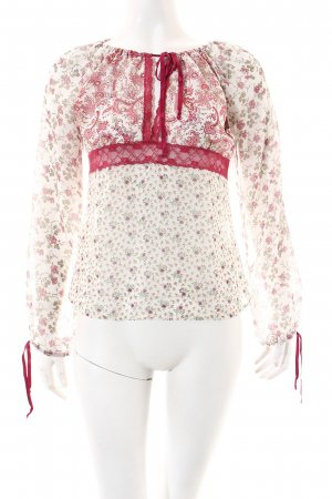 United Colors of Benetton Long Sleeve Blouse floral pattern casual look