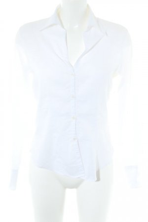 United Colors of Benetton Langarm-Bluse weiß Casual-Look