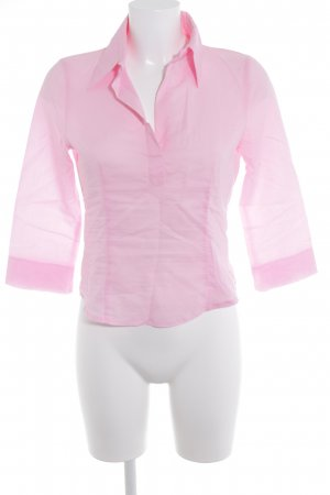 United Colors of Benetton Langarmhemd rosa Casual-Look