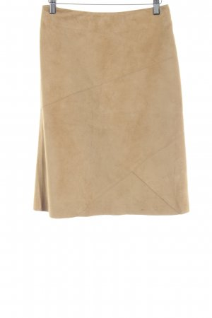 United Colors of Benetton Leren rok camel