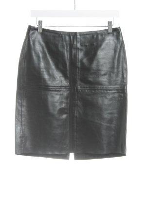 United Colors of Benetton Gonna in pelle nero stile da moda di strada