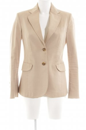 United Colors of Benetton Long-Blazer creme Business-Look