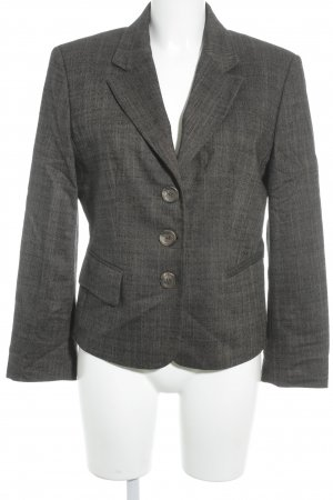 United Colors of Benetton Long-Blazer schwarzbraun-schwarz meliert Business-Look