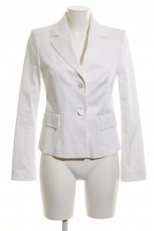 United Colors of Benetton Long-Blazer weiß Business-Look