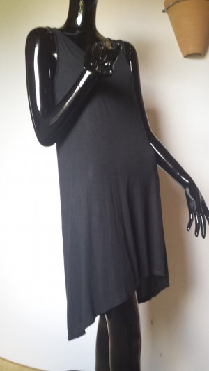 United Colors of Benetton, luftiges schwarzes Kleid, Gr. 36