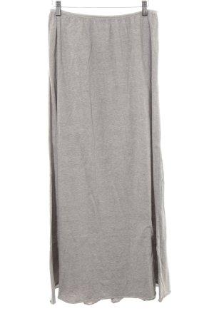 United Colors of Benetton Falda larga gris claro look casual