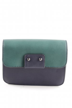 United Colors of Benetton Minitasche blau-türkis Business-Look