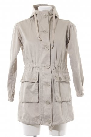 United Colors of Benetton Parka hellbeige Casual-Look