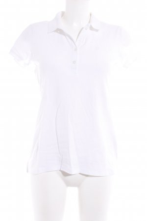 United Colors of Benetton Polo-Shirt weiß Casual-Look