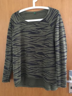 United Colors of Benetton Pulli mit Animalprint