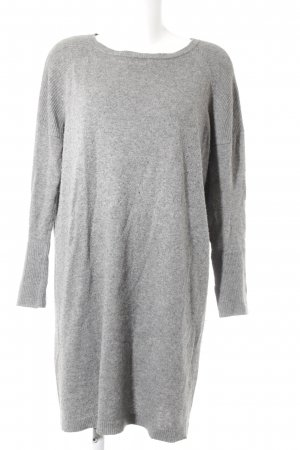 United Colors of Benetton Sweater Dress grey casual look