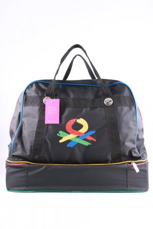 United Colors of Benetton Reisetasche Motivdruck Casual-Look