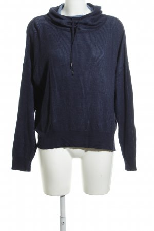 United Colors of Benetton Maglione dolcevita blu neon stile casual