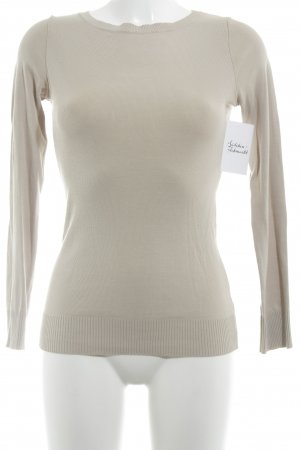United Colors of Benetton Rundhalspullover beige Casual-Look