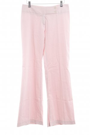 United Colors of Benetton Pantalone a zampa d'elefante rosa stile casual