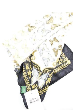 United Colors of Benetton Zijden doek volledige print glinsterend